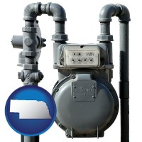 nebraska a residential natural gas meter