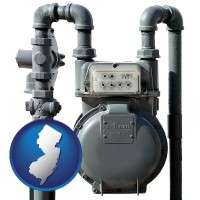 new-jersey a residential natural gas meter